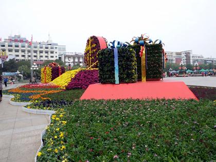 2012.春節桂林中心広場.JPG