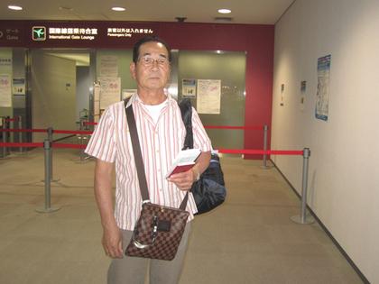 2013年9月11日新潟空j港出国.JPG