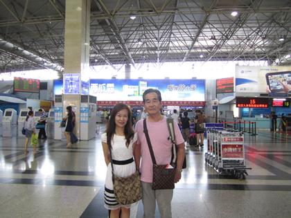2014年6月27日桂林空港で.JPG
