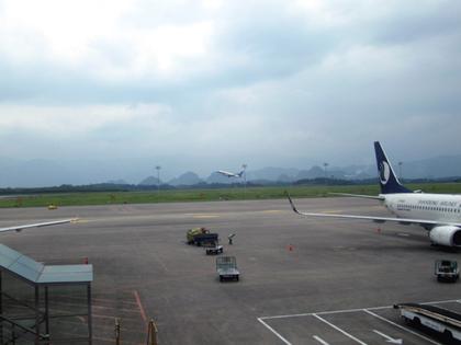 2014年6月27日桂林空港搭乗ゲート4.JPG