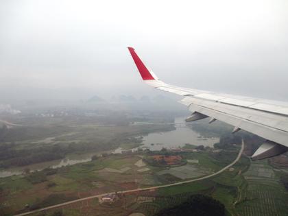 2015.5.3.桂林(3U8523便)着陸態勢.JPG